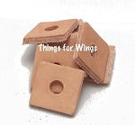 Small Leather Squares
