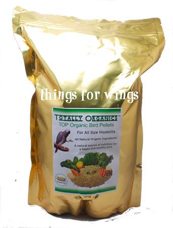Tops Totally Organic Pellets Bird And Parrot Food From