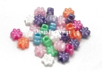 Flower Pearl Pony Beads