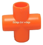 Bird Friendly Acrylic Pipe Fitting Cross