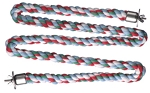 Comfy Cotton Large Zig Zag Rope Perch 1.25