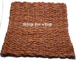 Square Extra Weave Seagrass Mat