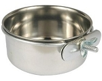 Stainless Steel Coop Cup 10 oz with Clamp