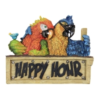 Happy Hour Parrot Marquee