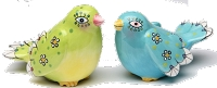 Country Bird Salt & Pepper Shakers
