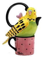 Yellow Parakeet Tea for One