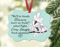 Lucky Lou & Coco Too BEST FRIENDS Ornament