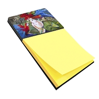 Menage-a-trois Parrots Sticky Note Holder