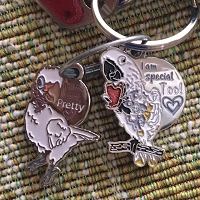 Lucky LOU & Coco Key Chain ~SET of 2~