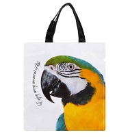 Blue & Gold Macaw Shopping Bag