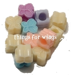 Pastel Butterfly Beads