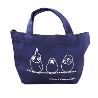 Kotori Collection Mini Tote Bag Navy