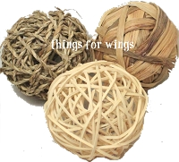 Large Rattan, Seagrass, Water Hyacinth Balls