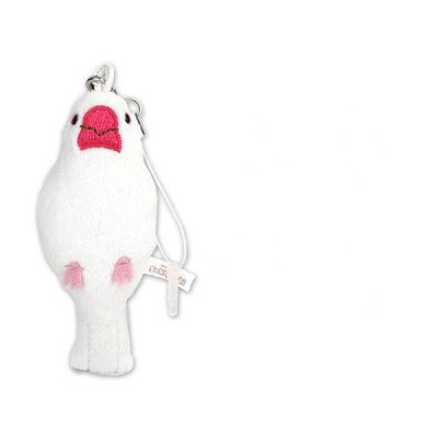 Paddy Bird White Smartphone Cleaner Mascot
