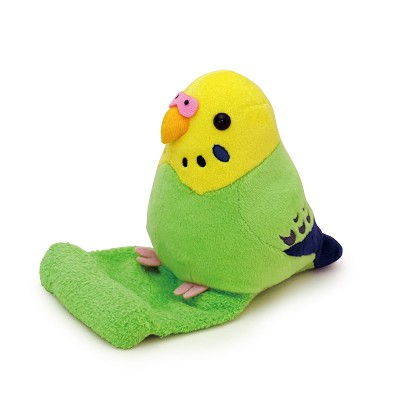 Budgerigar Green Stuffed Toy Smartphone Stand
