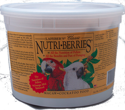 Classic Macaw/Cockatoo Nutri-berries 3.5 lbs