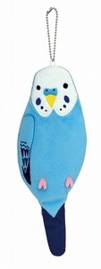 Budgerigar Blue Pen Pouch
