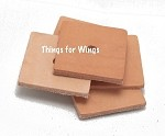 Large Leather Squares