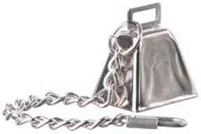 Large Cow Bell with Chain