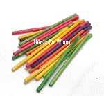 Large Rainbow Paper Sticks
