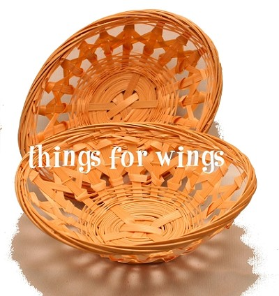 Oval Bamboo Basket