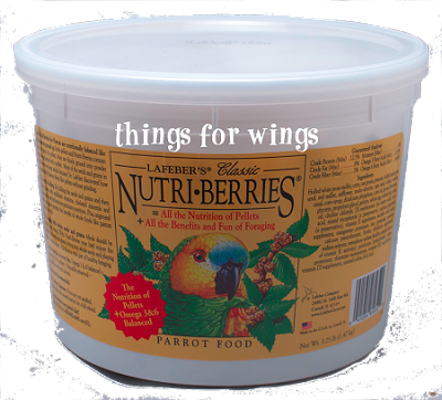 Classic Parrot Nutri-berries 3.5 lbs