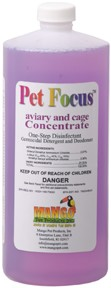 Pet Focus Cleanser and Disinfectant 32 oz Concentrate