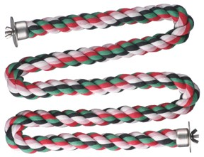 Comfy Cotton Large Zig Zag Rope Perch 1""
