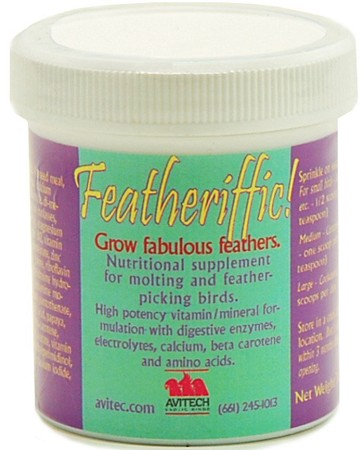 Featheriffic! Feather Conditioning Supplement 16 oz