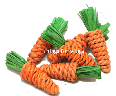 Mini Sisal Carrots Set of 6