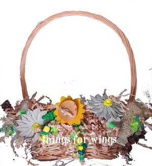 The Sunflower Foraging Basket