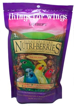 Sunny Orchard Nutri-berries Cockatiel 10 oz