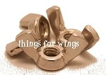 SS Wing Nuts for Building Perches