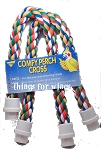 Comfy Cotton Rope Cross Perch Large 25