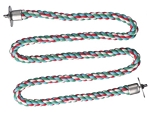 Comfy Cotton Extra Small Zig Zag Rope Perch 3/8