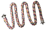 Comfy Cotton Small Zig Zag Rope Perch 3/4