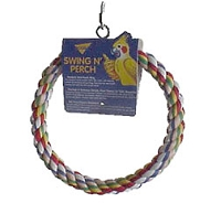 Cotton Rope Ring Swing Small