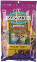 Avi-Cakes Fruit Delight for Small Birds 8 oz. package