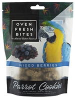 Oven Fresh Bites Mixed Berry Parrot Cookies Birdie Munchies