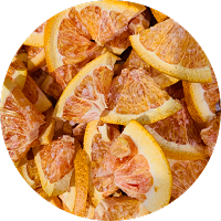 Freeze Dried Oranges