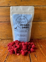 Freeze Dried Organic Raspberries