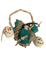 Basket of Snowmen