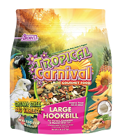 F.M. Browns Tropical Carnival Tropical Carnival® Gourmet Large Hookbill Food 5 lb