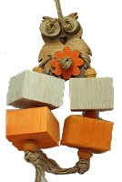 Just OWL-some Balsa Toy
