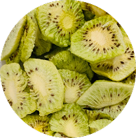 Freeze Dried Organic Kiwi