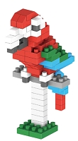 Greenwing Macaw Micro Building Blocks