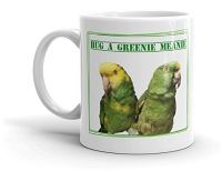 The Greenie Meanie Mug