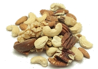 Mixed Shelled Raw Nuts, Organic