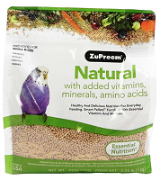 Zupreem Natural Maintenance Parakeet 2.25 lbs