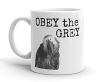 OBEY The GREY Mug